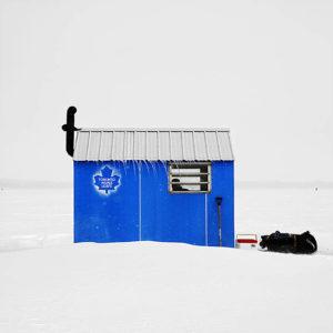 blauw ijshut
