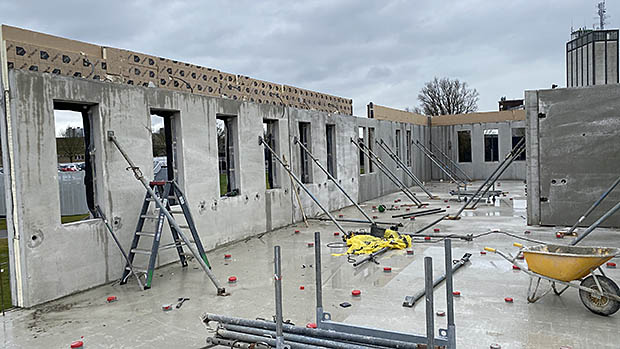 muren van huis