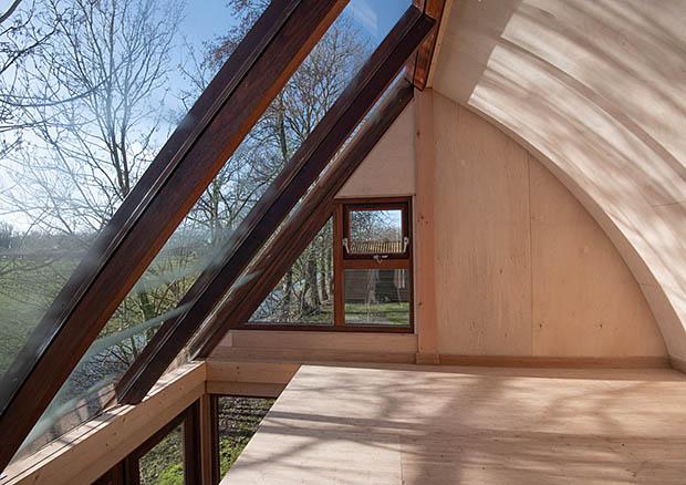 verdieping in klein huisje