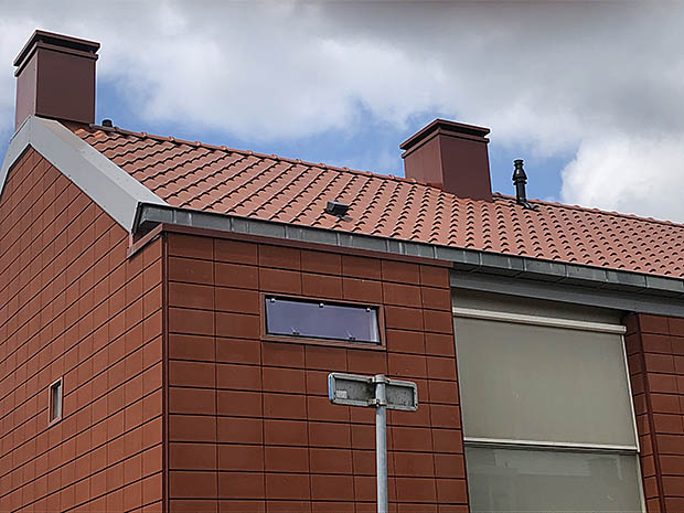 gevel en dak