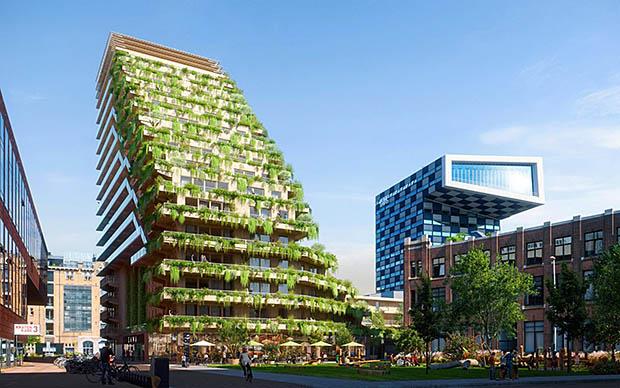 groen gebouw