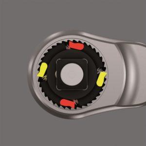 Zyklop Metal ratel met vaste kop